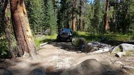 Dusy-Ershim  Trail - Waypoint 6: Dusy Meadows