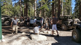 Dusy-Ershim  Trail - Waypoint 13: East Lake and Campground
