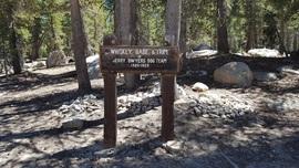 Dusy-Ershim  Trail - Waypoint 26: North End of Trail - Asphault