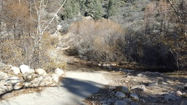3N16 - Holcomb Valley - Waypoint 4: Continue Straight at 3N93 (Holcomb Creek, Pacific Crest Trail, Water Crossing)
