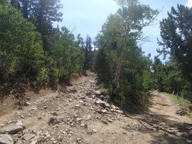 Bill Moore Lake - Waypoint 7: The Chutes