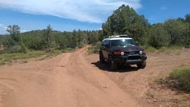 Oak Creek Homestead - Waypoint 6: 9845H & 9845N Intersection