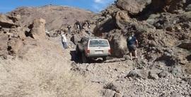 Doran Canyon - Waypoint 5: 5 Foot Waterfall