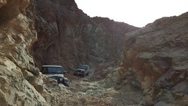 Odessa Canyon - Waypoint 4: 7 Foot Waterfall