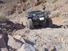 Doran Canyon - Waypoint 7: Hard Spot  - Easier Route