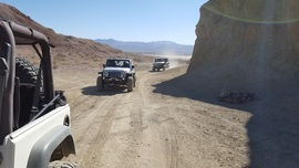 Doran Canyon - Waypoint 1: Trailhead and Mud Caves (Alt Path Closed By BLM)