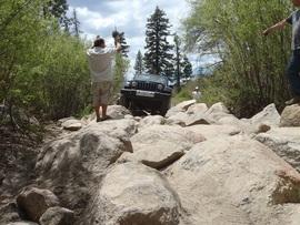 3N93 - Holcomb Creek Trail - Waypoint 8: East Rock Garden