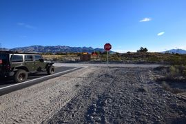 Mormon Well Road  - Waypoint 2: T Intersection