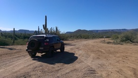 Old Black Canyon Highway - Waypoint 15: Camping Area