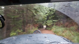 Evans Creek / Trail #519 - Waypoint 7: Stay to the Right/Bypass Obstacle