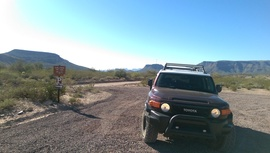 Table Mesa Road - West - Waypoint 6: Black Canyon Trail Parking Area