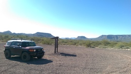 Table Mesa Road - West - Waypoint 4: BLM Staging Area