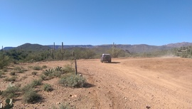 AZCO Mine Road - Waypoint 5: 9982 Intersection