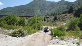 Azusa Canyon SVRA - Waypoint 6: 2nd River Crossing