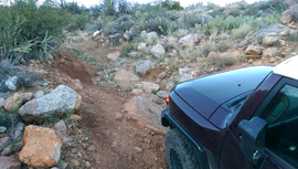 Black Canyon OHV Trail - Waypoint 14: Big rocks