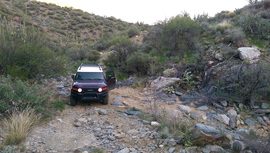 Black Canyon OHV Trail - Waypoint 13: Slate Creek