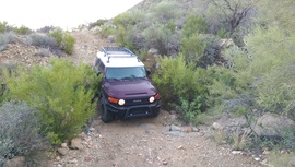 Black Canyon OHV Trail - Waypoint 12: Rut Wash