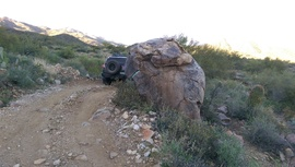 Black Canyon OHV Trail - Waypoint 11: Bolder head