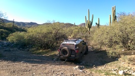 Black Canyon OHV Trail - Waypoint 6: Deep Wash