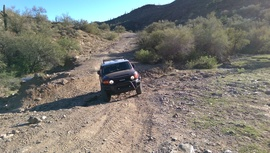 Black Canyon OHV Trail - Waypoint 2: 9958 & Upper Terminator intersection