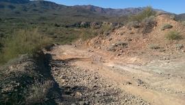 Little Pan Mine Road - Waypoint 8: Split Top Intersection