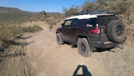 Little Pan Mine Road - Waypoint 7: Rutted Hill