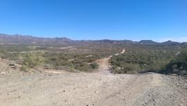 Little Pan Mine Road - Waypoint 5: Hill