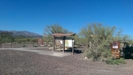 Little Pan Mine Road - Waypoint 4: Little Pan Staging Area