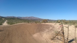 TMRA 9994 - Waypoint 3: Little Pan Mine Road Intersection