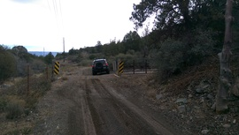 General Cook National Recreation Trail - Waypoint 10: Cattle Guard West
