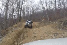 Windrock Trail 22 - Waypoint 10: Last Climb of Trail 22