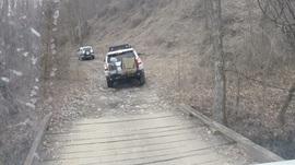 Windrock Trail 22 - Waypoint 2: Bridge Trail Head