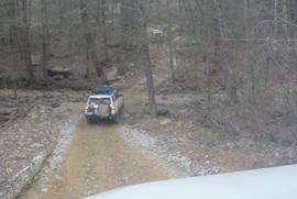 Windrock Trail 22 - Waypoint 4: Creek Crossing
