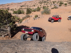 Poison Spider Mesa - Waypoint 16: Steep Obstacle with Bypass