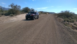 TMRA 9991 - Waypoint 4: Little Pan Mine Rd Intersection