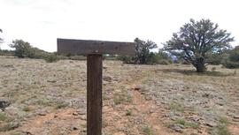 Jacks Canyon Road - Waypoint 10: Hot Loop Hiking trail