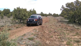 Jacks Canyon Road - Waypoint 6: Ditch