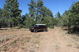 Jacks Canyon Road - Waypoint 3: 801 & 9495F & 9496F Intersection