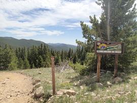 Red Elephant Hill - Waypoint 19: 171.3 Mill Creek Trailhead