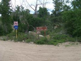 Aspen Ridge - Waypoint 15: Intersection FS Road 184