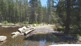 The Rubicon Trail - Waypoint 26: 4x4 Trail - Stay South