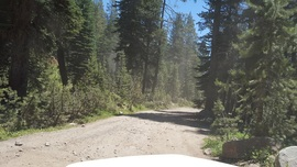The Rubicon Trail - Waypoint 25: Barker Pass or Hwy 89 - Stay East or South