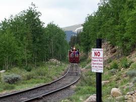Birdseye Gulch - Waypoint 3: Railroad Crossing