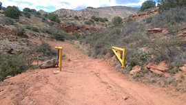 Casner Mountain Trail - Waypoint 10: South Gate