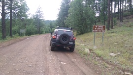 Fry Canyon Trail - Waypoint 8: West Camping area