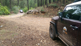 Fry Canyon Trail - Waypoint 6: Fry Canyon