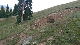 Saints John - Waypoint 8: Collapsed Mine Adit/Tailings