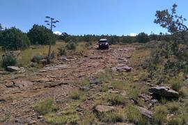 Rocky Sidewinder / 153A - Waypoint 12: Vista Campsite Intersection