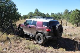Rocky Sidewinder / 153A - Waypoint 5: Cattle Guard