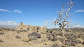 Mojave Road - Waypoint 44: Bert G Smith Homestead